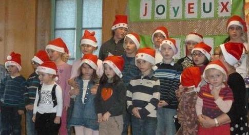 La magie du spectacle de Noel à l'école